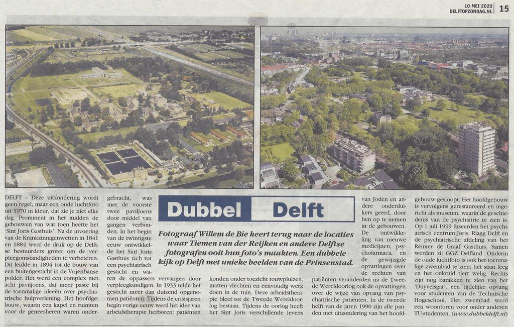 Dubbel Delft 10 mei 2020
